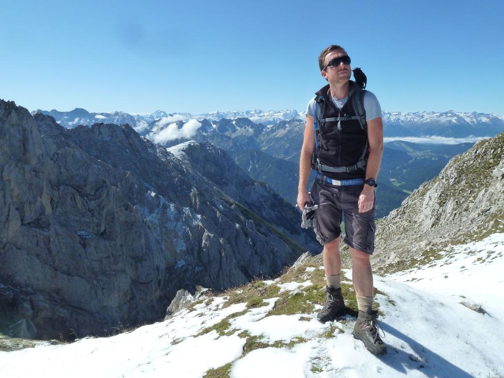Klettersteig Mittenwald : Mittenwalder höhenweg klettersteig b hm h klettersteige