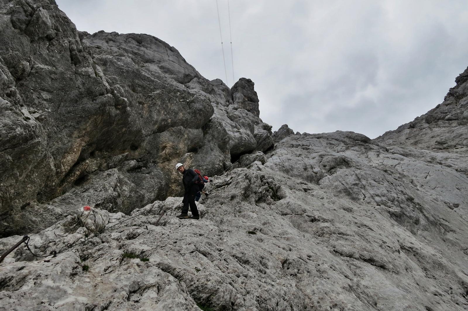 Klettersteig Zugspitze Stopselzieher : Zugspitze via stopselzieher leichter klettersteig