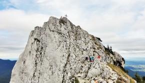 Gipfelanstieg Teufelstättkopf