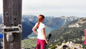 Aussicht vom Ebner Joch auf den Achensee - Top! :)