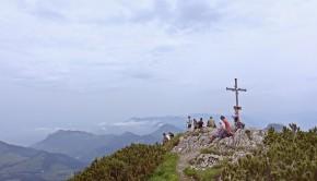 Gipfel Großer Traithen