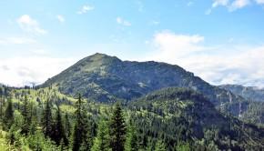 Demeljoch von Norden - Der Aufstieg erfolgt von rechts