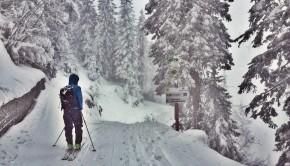 Kreuzeckhaus Skitour