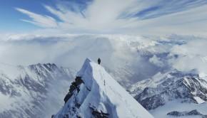 Großglockner - kurz vor dem Gipfel