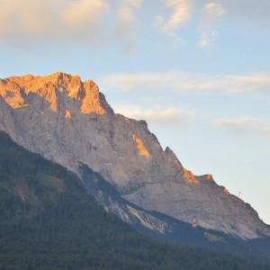 Zugspitze im Morgenlicht