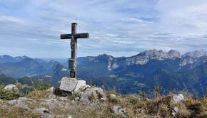 Der Gipfel des Grubhörndls