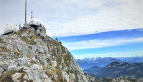 Am Gipfel des Wendelstein