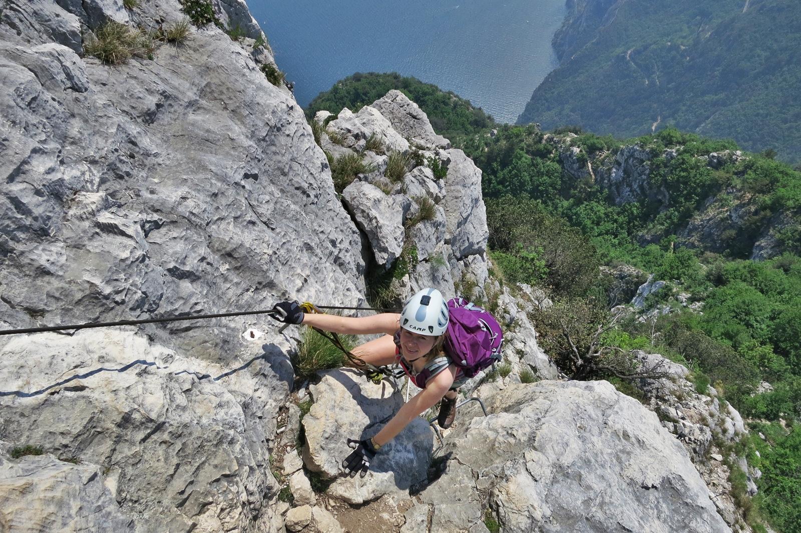 Klettersteig Map : Cima capi fausto susatti klettersteige
