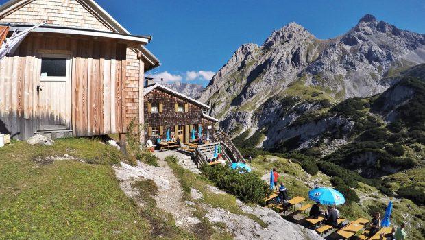 Klettersteig Coburger Hütte : Coburger hütte leicht hm h leichte wanderung