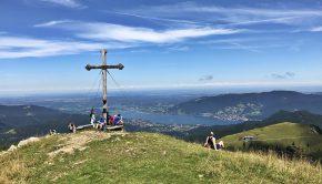 Hirschberg-Gipfel, Tegernsee und Hirschberg-Haus