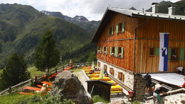 Schweinfurter Hütte &copy Mark Zahel