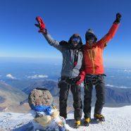 Am Gipfel des Elbrus - Jiha!